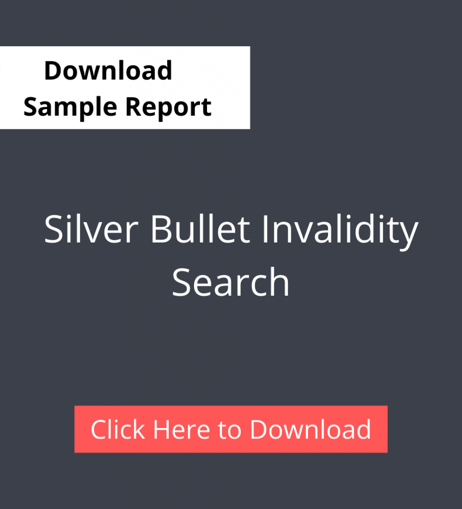 Silver Bullet Invalidity search